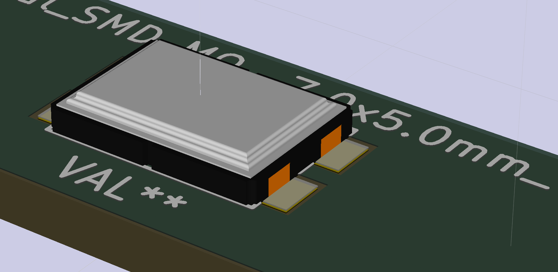 Technology Management Image: My 1st 3D Model For Kicad